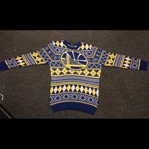 Golden State Warriors Christmas sweater